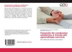 Fomento de conductas solidarias a través del aprendizaje-servicio的封面