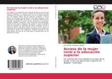 Acceso de la mujer rural a la educación superior kitap kapağı