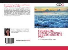 Conocimiento, actitudes y practicas en la aplicación de la LVCS的封面