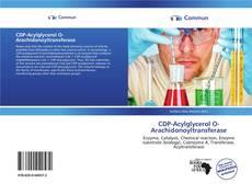 Bookcover of CDP-Acylglycerol O-Arachidonoyltransferase