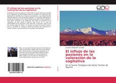 Capa do livro de El influjo de las pasiones en la valoración de la cogitativa