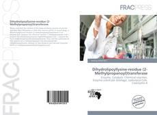 Bookcover of Dihydrolipoyllysine-residue (2-Methylpropanoyl)transferase