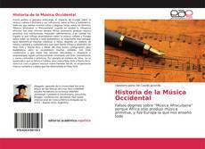 Обложка Historia de la Música Occidental