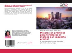 Capa do livro de Mejoras en prácticas para fortalecer el ingreso por impuesto predial