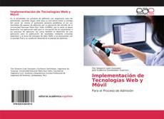 Implementación de Tecnologías Web y Móvil的封面