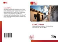 Couverture de Battle Of Peta