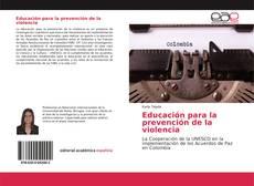 Couverture de Educación para la prevención de la violencia