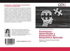 Enseñanza - Aprendizaje y Evaluación en Bioquímica Aplicada kitap kapağı