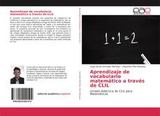 Bookcover of Aprendizaje de vocabulario matemático a través de CLIL