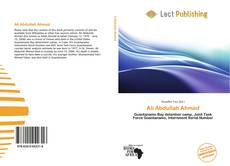 Bookcover of Ali Abdullah Ahmed