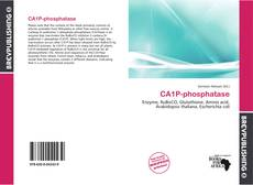 Обложка CA1P-phosphatase