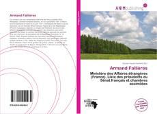 Bookcover of Armand Fallières