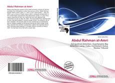 Capa do livro de Abdul Rahman al-Amri