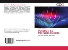 Bookcover of Variables: Su Operacionalización