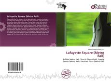 Bookcover of Lafayette Square (Metro Rail)