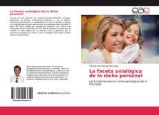 Capa do livro de La faceta axiológica de la dicha personal