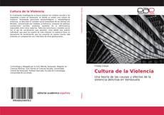 Portada del libro de Cultura de la Violencia