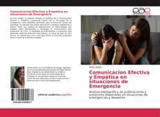 Portada del libro de Comunicacion Efectiva y Empática en situaciones de Emergencia