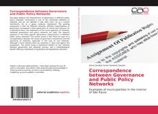 Обложка Correspondence between Governance and Public Policy Networks