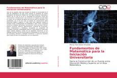 Buchcover von Fundamentos de Matemática para la Iniciación Universitaria
