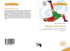 Portada del libro de Adrian Antunović