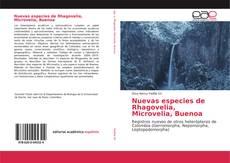 Portada del libro de Nuevas especies de Rhagovelia, Microvelia, Buenoa