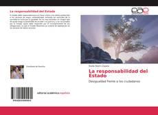 Bookcover of La responsabilidad del Estado