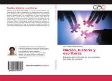 Bookcover of Nación, historia y escrituras