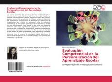 Portada del libro de Evaluación Competencial en la Personalización del Aprendizaje Escolar