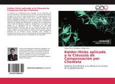 Bookcover of Kaldor-Hicks aplicado a la Cláusula de Compensación por Clientela