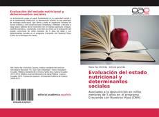 Обложка Evaluación del estado nutricional y determinantes sociales