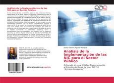 Bookcover of Análisis de la Implementación de las NIC para el Sector Público