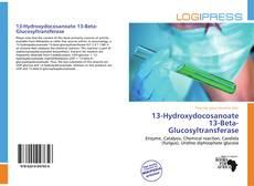 Bookcover of 13-Hydroxydocosanoate 13-Beta-Glucosyltransferase