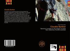 Capa do livro de Claudio Barbier