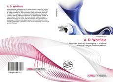 Copertina di A. D. Whitfield
