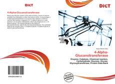 Buchcover von 4-Alpha-Glucanotransferase
