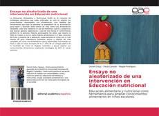 Borítókép a  Ensayo no aleatorizado de una intervención en Educación nutricional - hoz