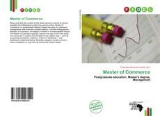 Portada del libro de Master of Commerce