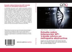 Обложка Estudio sobre Interacción WT-1/óxido nítrico en nefropatía obstructiva