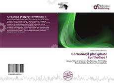 Bookcover of Carbamoyl phosphate synthetase I