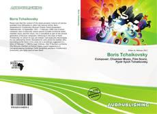 Boris Tchaikovsky kitap kapağı