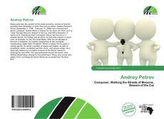 Andrey Petrov kitap kapağı