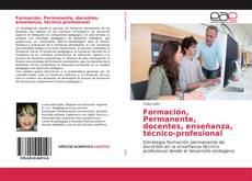 Portada del libro de Formación, Permanente, docentes, enseñanza, técnico-profesional