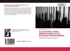 Buchcover von La Sanción como Adolescente en el Proceso Penal Adulto