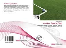 Couverture de Al-Khor Sports Club