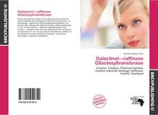 Bookcover of Galactinol—raffinose Gllactosyltransferase