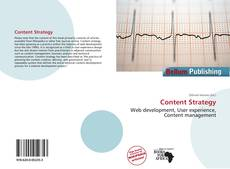 Bookcover of Content Strategy