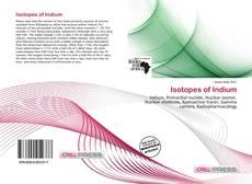 Copertina di Isotopes of Indium