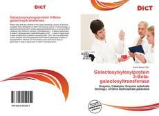 Copertina di Galactosylxylosylprotein 3-Beta-galactosyltransferase