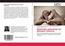 Portada del libro de Nutrición relacional en primera infancia